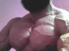 Bodybuilder Tony Abs Flex