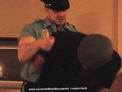 Muscle God Brendan getting a blow job