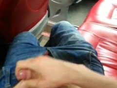 wank in the bus