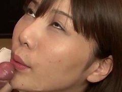 Milf in heats, Karen Natsuhara, devours cock