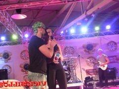 Conrad Son y la pornoband featuring Dana Rico en el FEDA 2015 by Viciosillo