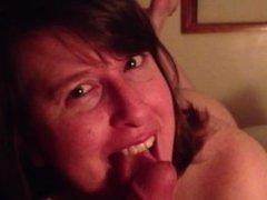 Wife Blowjob POV