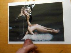 Chloe Grace Moretz Half Naked in 'Nylon' Tribute