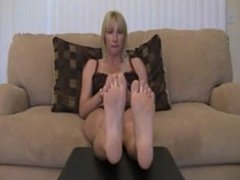Tickle My Bare Feet and Jerk Off