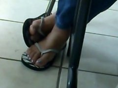 My Friend's Candid Feet 2(A 2013 Candid of Mine)