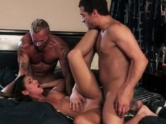 August Ames Threesome