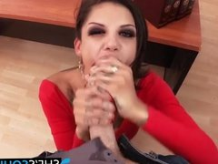 Playful Bonnie gets pussy and anal fucked by big dick