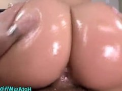 big blonde bitch bends over for cock to fuck her cunt,