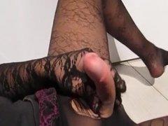 Nylon Masturbation 33
