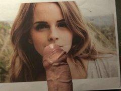 Cum tribute to Emma Watson (no.5)