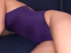 Renata Angel fucked in swimsuit