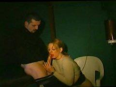 Follando con una prostituta francesa