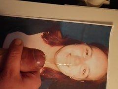 Sperma Facial Tribute fuer Katrin aka GeilesPaar1982
