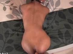Ladyboy Geeta Pushing The Dick Into Her Ass