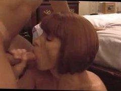 Big tit redhead facial. Rosaline from 1fuckdate.com