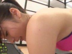 horny gym girl 10