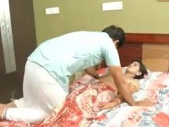 indian lonely man grabbed his housemaid