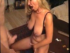 Sixta from 1fuckdate.com - Amateur cute mature saggy tits pie