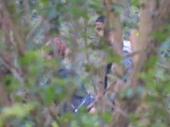 Hidden cam outdoor sex