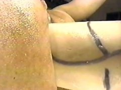 Crazy huge anal insertion must see.
