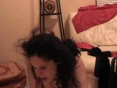 White Girl On Her Knees For Black Dick