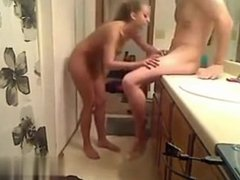 I found her on W1LD4U.COM - Couple in bathroom