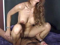 Dirty MILF gets her cunt boned