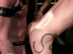 Hunk spunked by black rod