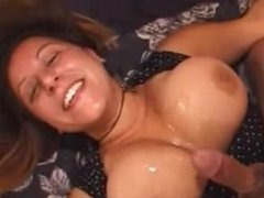 Big boobed milf gives tit job and . Eddie from 1fuckdate.com