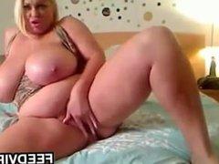 Large Blonde Slut With Large Breasts