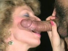 Mature sucking dick clean