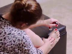 Stephanie Pearle - Nail Painting Toes Fingers Nail Polish Fetish Hands Feet