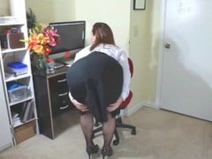 Stephanie Pearle - Fishnet Ass Worship - Female Domination Boss Fantasy