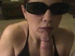 Brittny from 1fuckdate.com - Blowjob