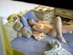 18 Year Old Masturbate on Hidden Cam - www.LiveSquirt.tk