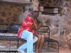 amateur african couple