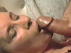 Mature Wife takes a Facial