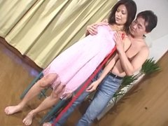 Subtitles busty unfaithful Japanese wife risque BDSM play