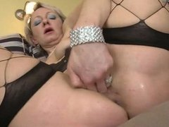 Old but Still Hot Grandma and Her Old Pussy F
