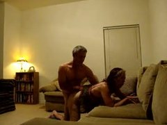 Wife Fucking  stranger while hubby is at work