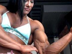 Alina Popa Sexy Muscle Angel