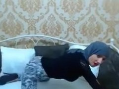 SpicyLiveCams.com - arab girl twerking and_dancing on webcam part 1