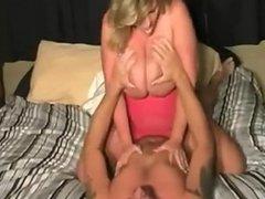 Big tit milf rides cock like a pro