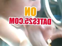 Italian blowjob in my car from denise romania