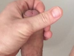 Guy Jerking Off With Cumshot