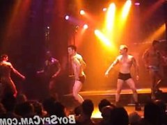 huge cock group male strippers show