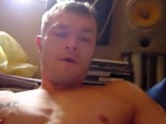 smoking, wanking and cumming - 5 min