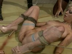 Bride Dominated - Foot Worship, Slapping, Strapon