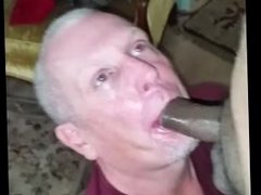 cocksucker craves bbc cum