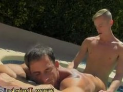 Gay guys with very blonde hair fucking porn Alex is liking the sun on his